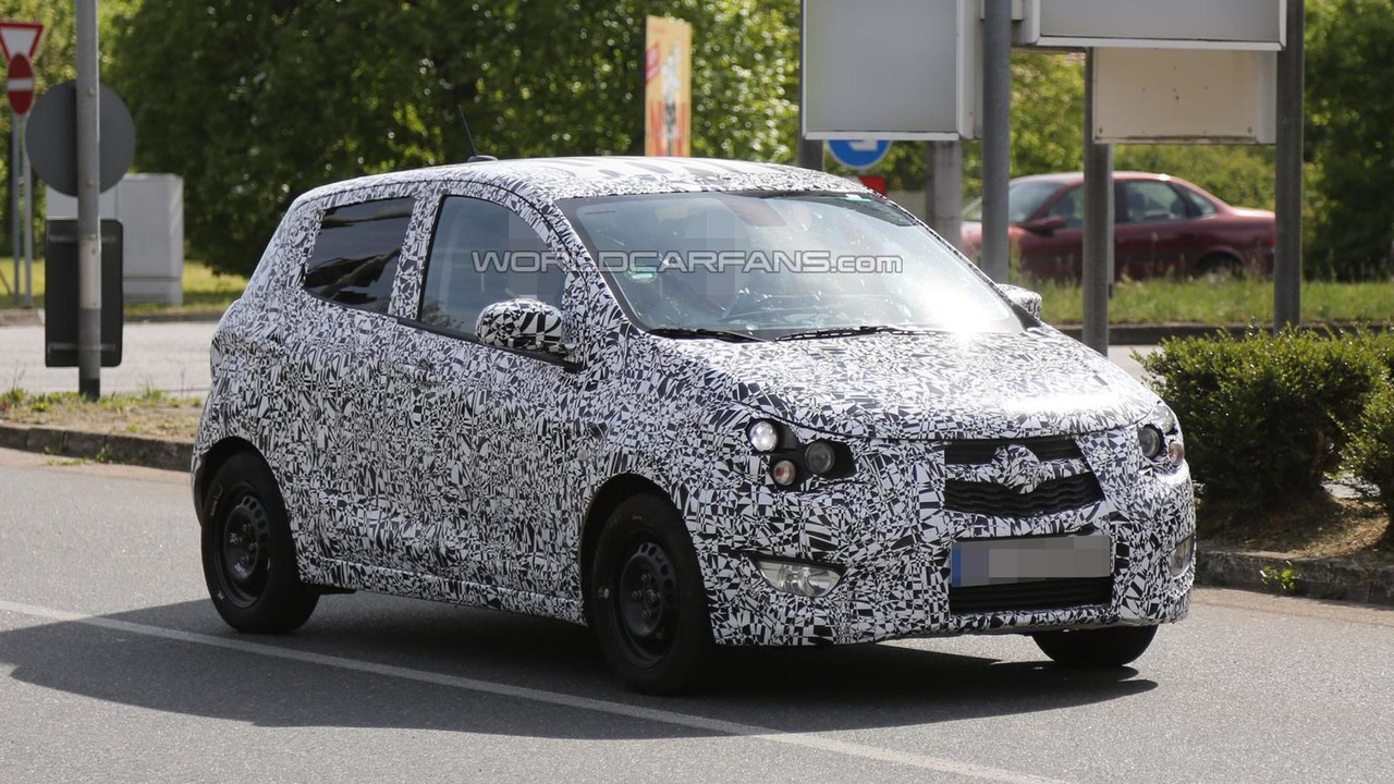2015 Opel Agila spy photo