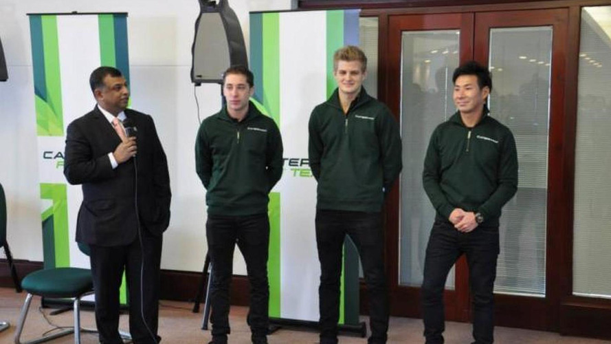 Caterham announces new drivers for 'pivotal' year