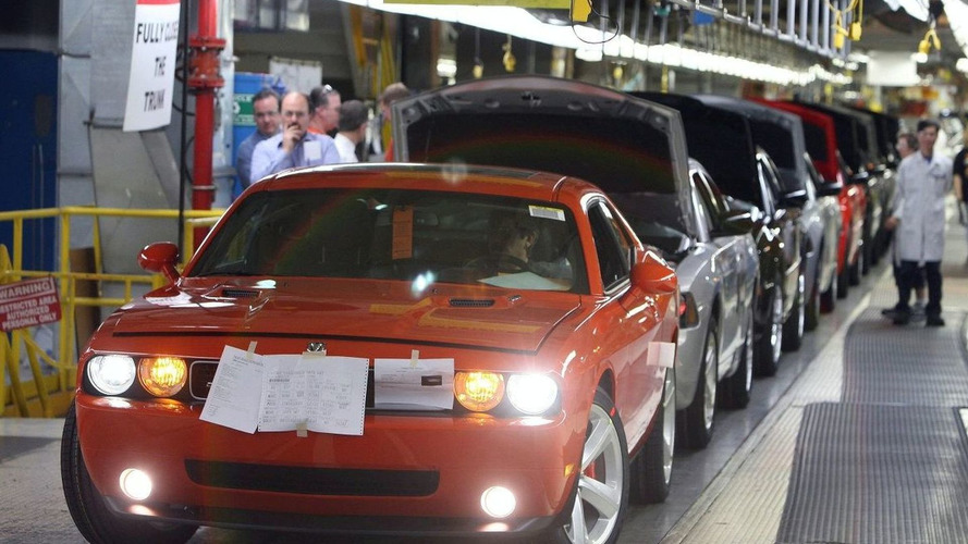 2008 Dodge Challenger SRT8 Production Started