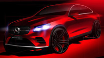 Mercedes-Benz GLC Coupe teaser image