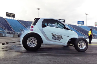 Watch This V8 Smart Car Run the Quarter Mile in 9 Seconds