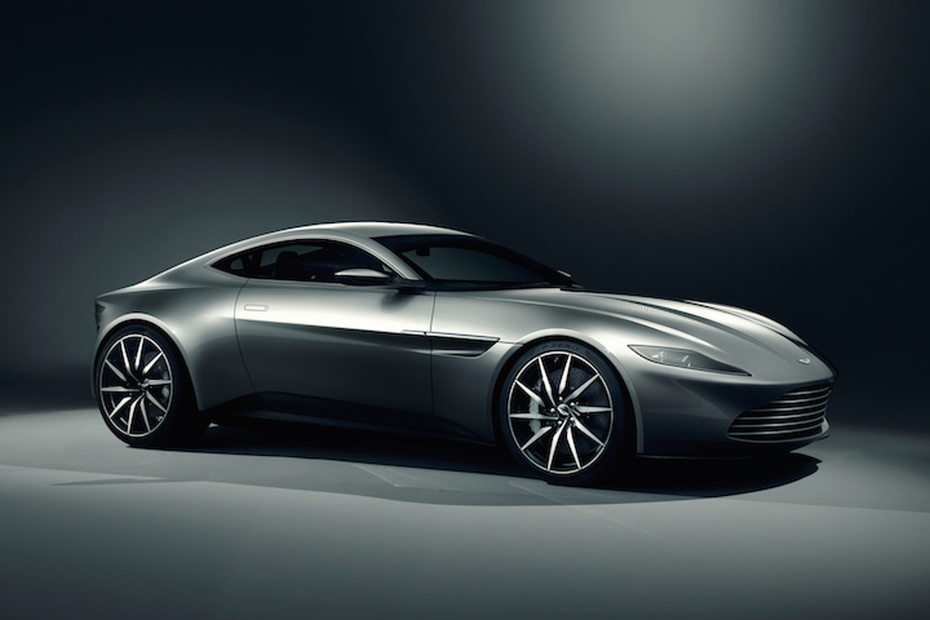 The Aston Martin DB10 Stops By Jay Leno's Garage