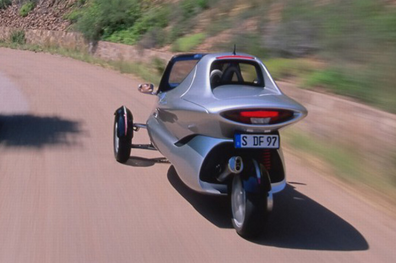 Five Wild Three-Wheeled Cars