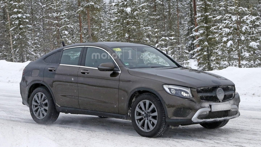 Mercedes GLC Coupe drops almost all disguise [41 pics]