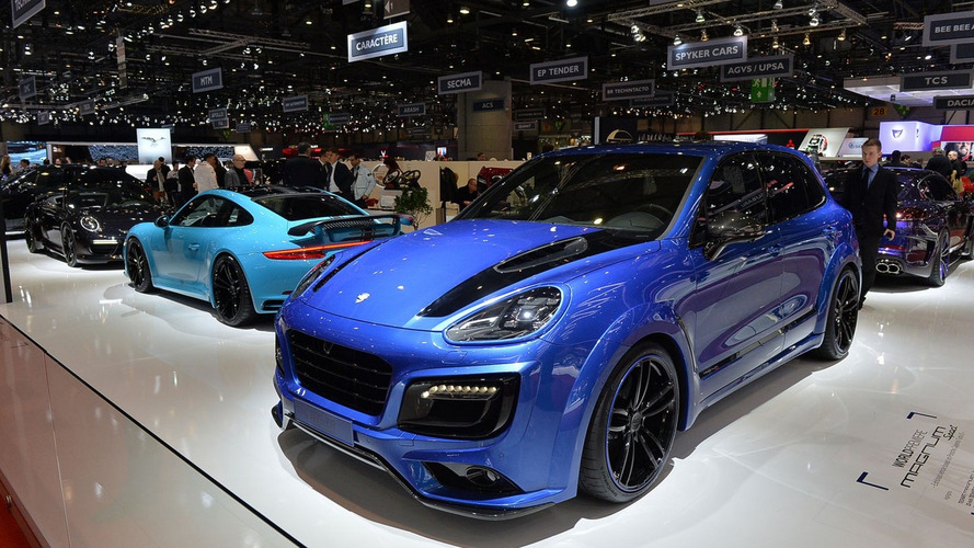 Tuner muscles up Porsche Cayenne with extra power, wide body