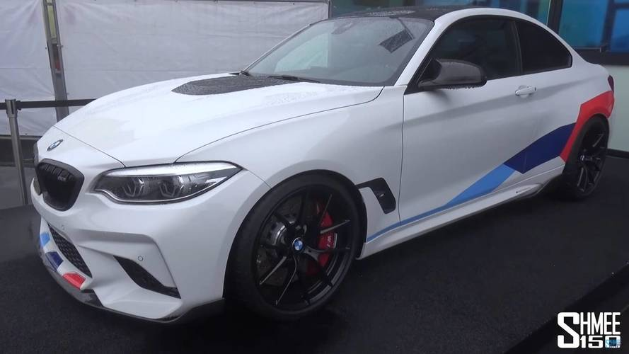 BMW M2 Competition With M Performance Parts Detailed On Video