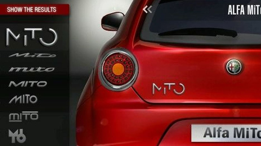 Alfa Romeo picks New Mito Logo
