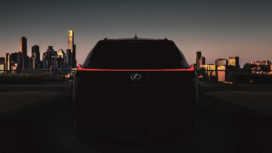 Lexus will reveal new UX baby SUV in less than two weeks
