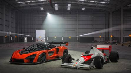McLaren christens new carbonfibre facility with Senna donuts