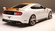 Supercharged 750-hp Ford Mustang puts on flashy suit for SEMA 006