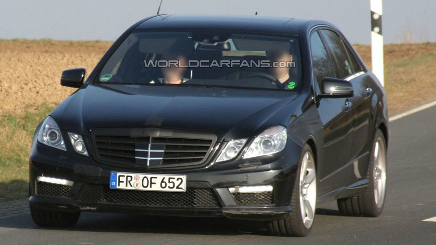 2010 Mercedes-Benz E63 AMG Now Testing Virtually Undisguised