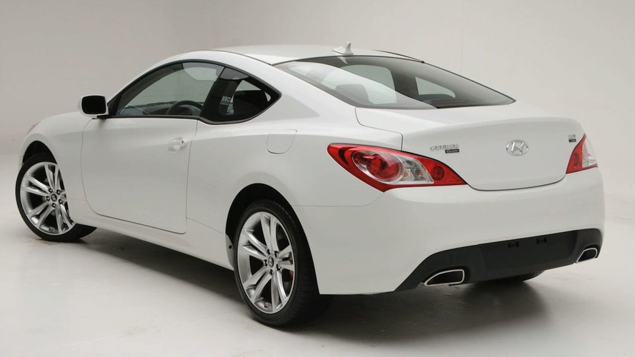 Hyundai Genesis Coupe 2.0T R-Spec Finalized for SEMA Debut