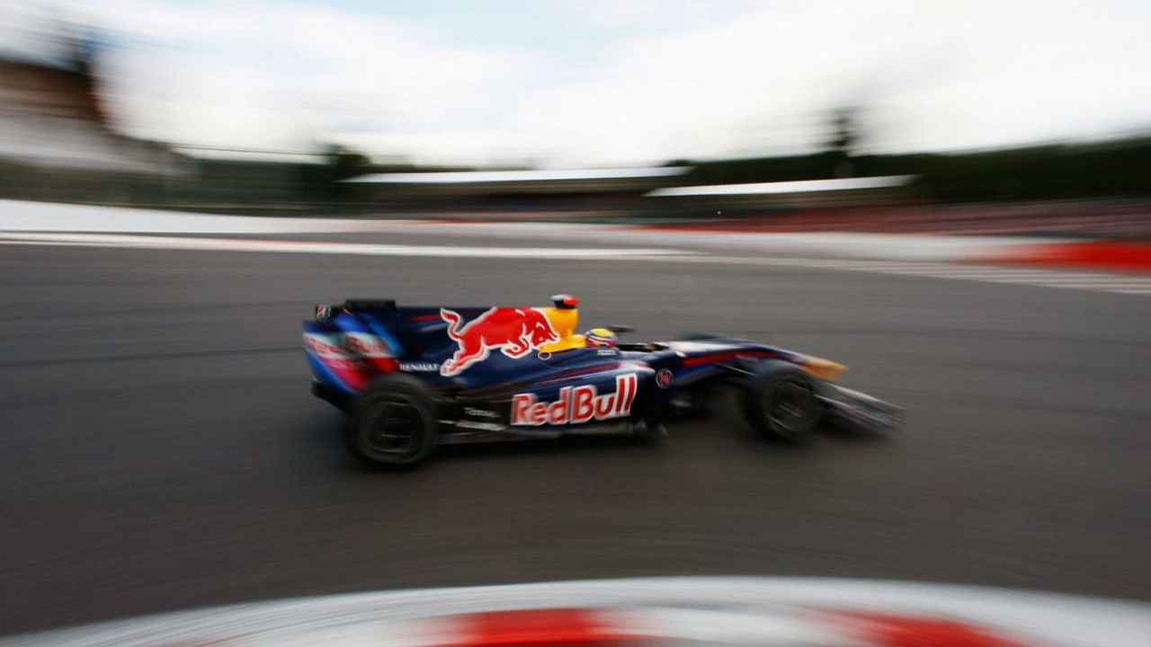 Mark Webber, qualifying, Belgian Grand Prix, Spa Francorchamps, Belgium 29.08.2009