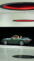 The exhibition: the Porsche 911 Carrera S Cabriolet, 2008