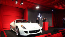 Ferrari 599 China being auctioned at Ferrari Gala Dinner at Red Gate Gallery in Beijing - 11/03/2009