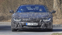 2018 BMW i8 Spyder new spy photos