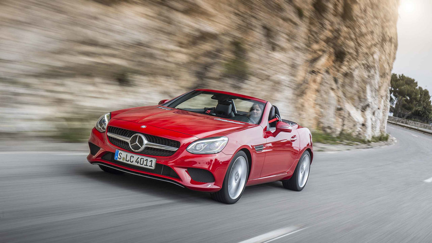 Entry-Level Mercedes SLC 180 Is Going After Audi TT Roadster