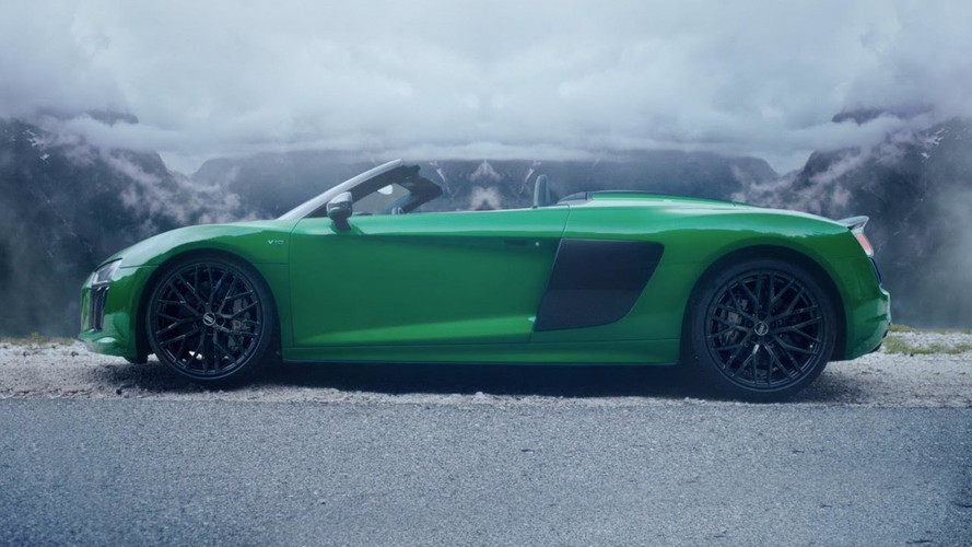 Audi R8 Spyder V10 Plus Ad Might Make You Dizzy