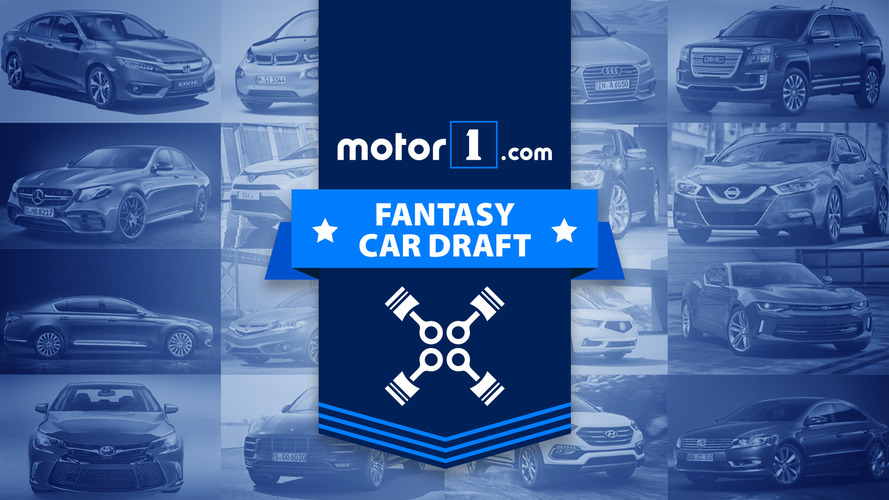 Watch The Motor1 Fantasy Car Draft, Live
