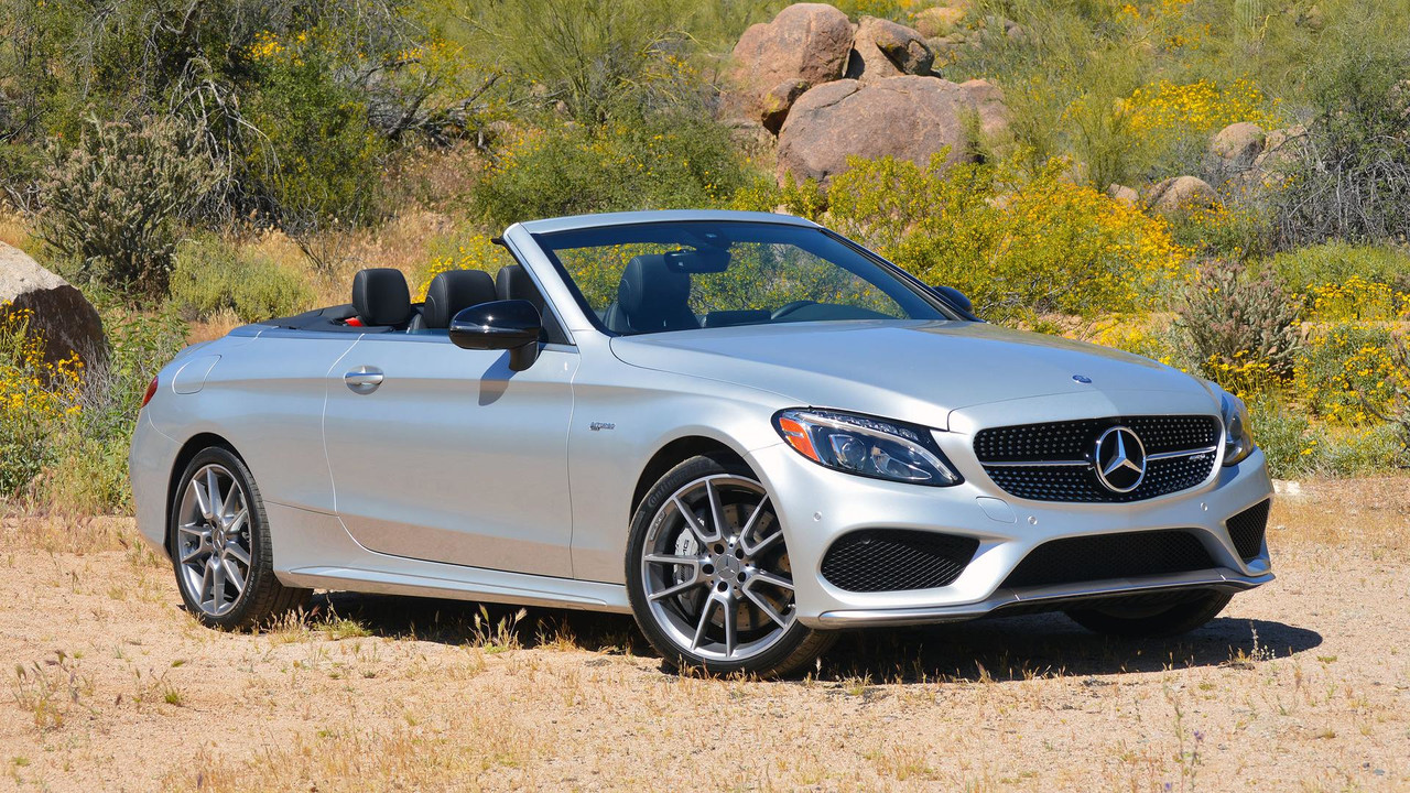 2017 mercedes amg c43 cabriolet review the middle way. Black Bedroom Furniture Sets. Home Design Ideas