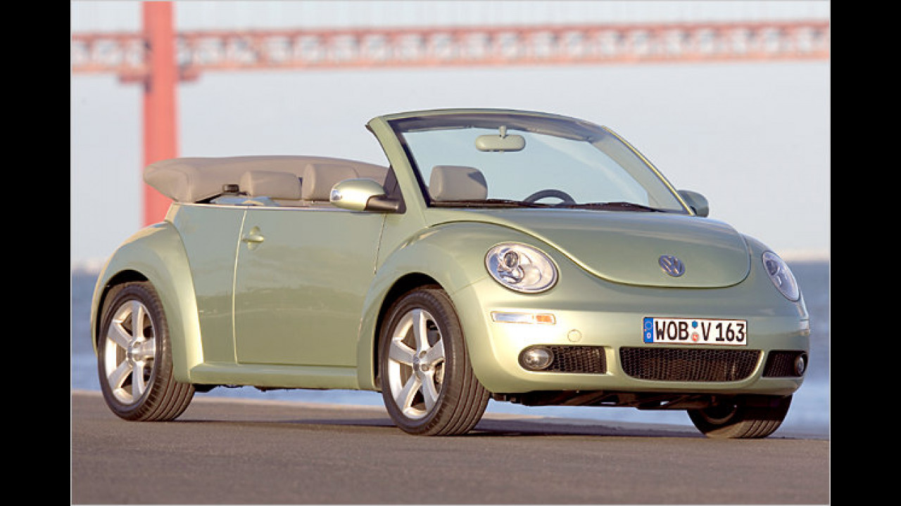 VW New Beetle Cabrio 1.9 TDI