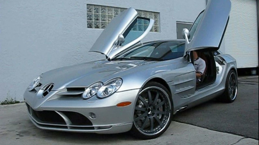 Renntech Re-tunes Mercedes SLR Mclaren 722 to 740hp