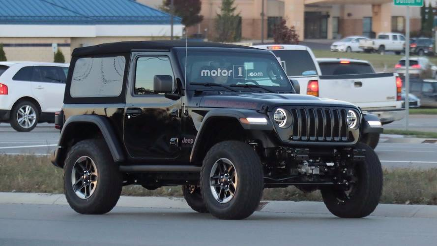 Entire 2018 Jeep Wrangler Lineup Photographed On Road [40 Images]