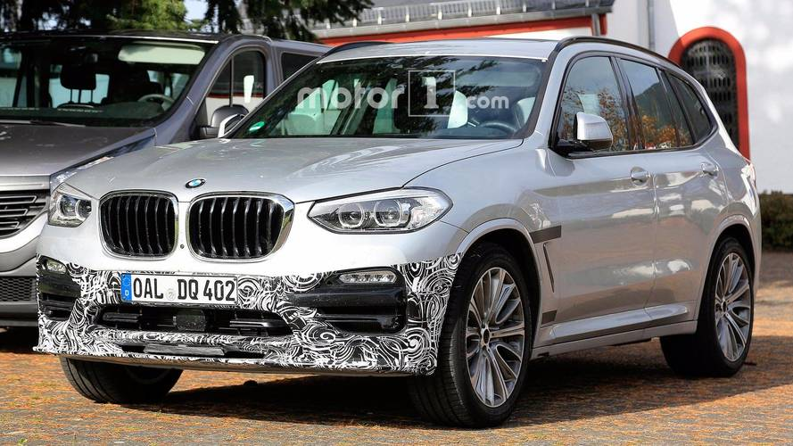 Alpina Spied Developing New XD3 Performance Crossover
