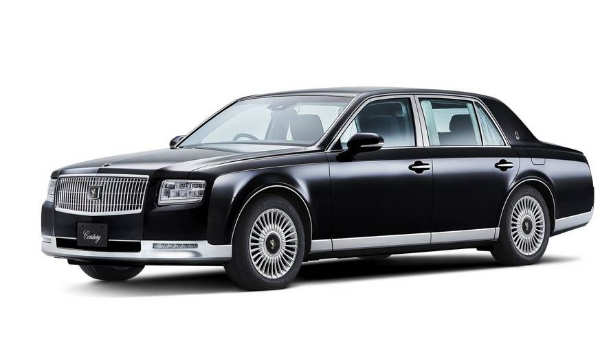 2018 Toyota Century Reveals Its Classic Design Before Tokyo Debut