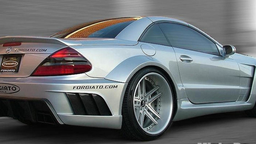 Mercedes SL-Class widebody package by Misha Designs