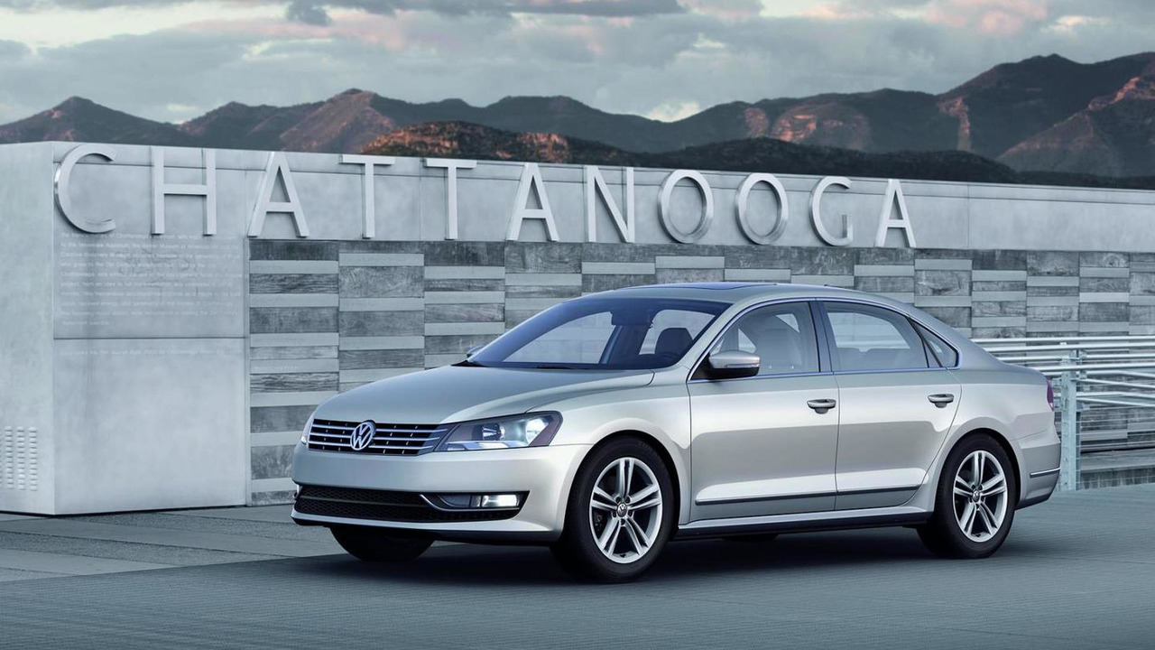 2012 Volkswagen Passat US version