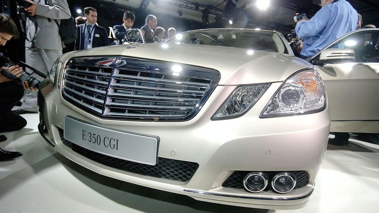 2010 Mercedes E-Class Sedan at Special Detroit Preview Event