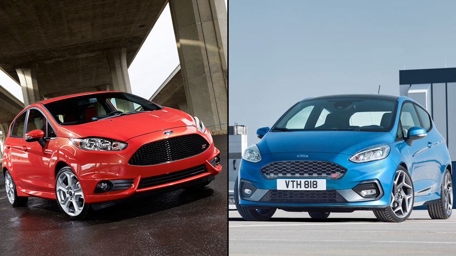 Old vs. New: How the Ford Fiesta ST has changed