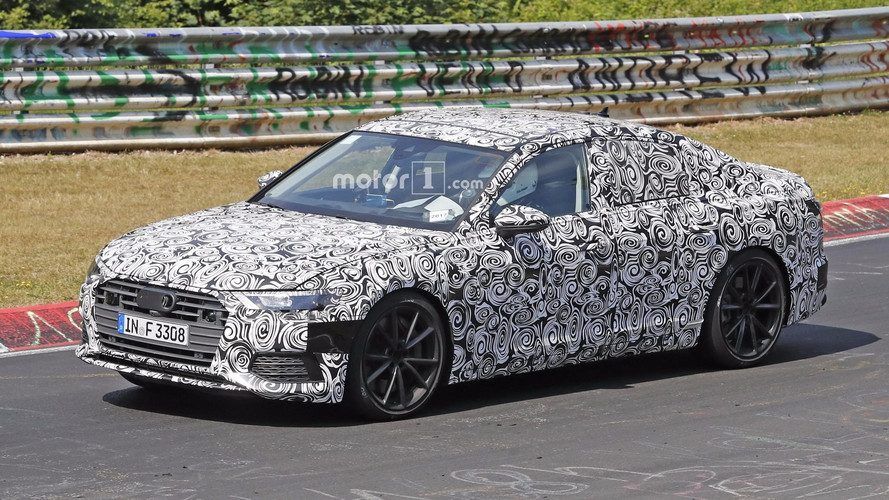 New Audi S6 Caught Testing At The Nurburgring