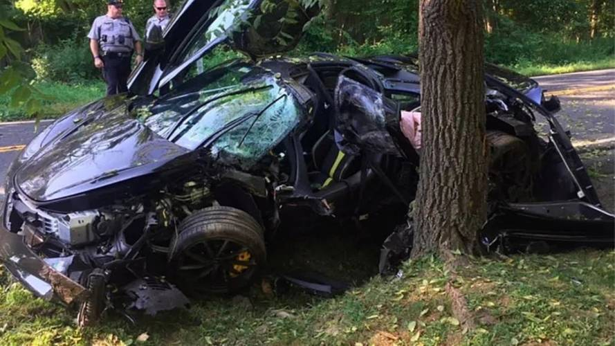 McLaren 720S completely destroyed one day after delivery