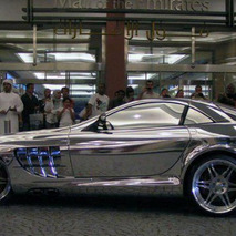 White Gold SLR McLaren Is...um...wow