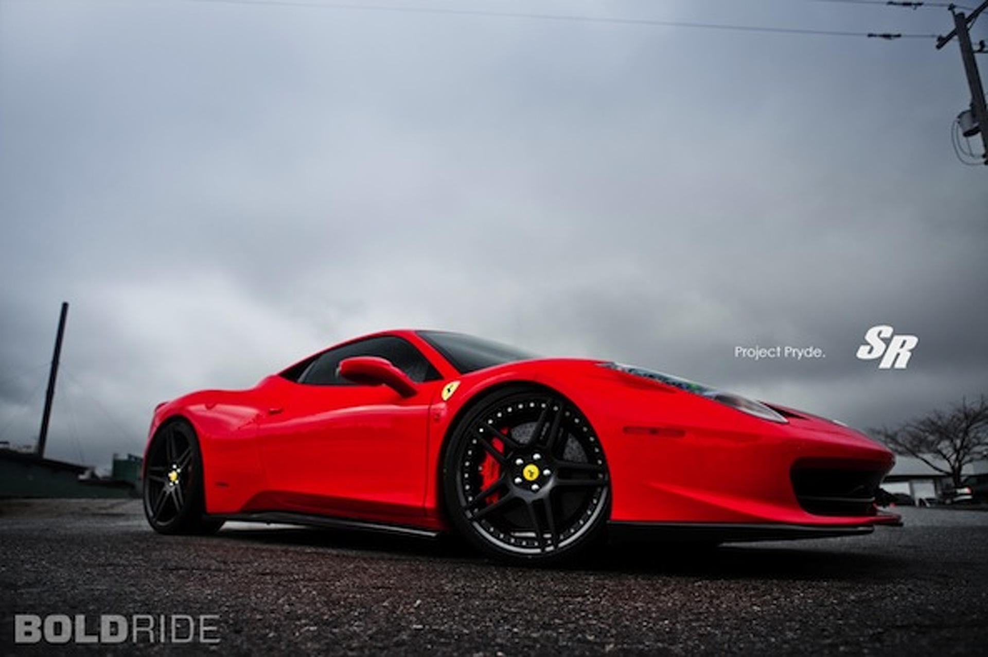 Bold Ride of the Week: SR Auto Group Ferrari 458 Pryde