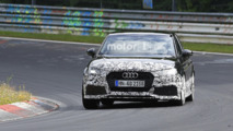 Audi RS3 Sedan spy photo