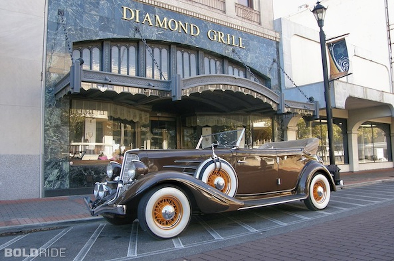Your Ride: 1934 Auburn 850Y Phaeton Convertible