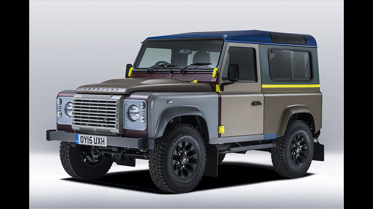 Land Rover Defender von Paul Smith