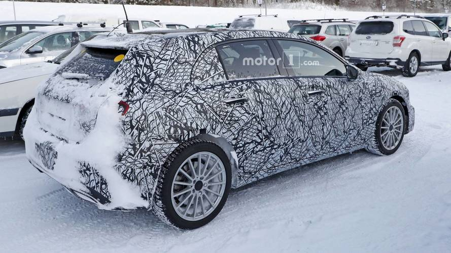 Mercedes A-Class Hybrid Could Get Electrically Driven Rear Axle