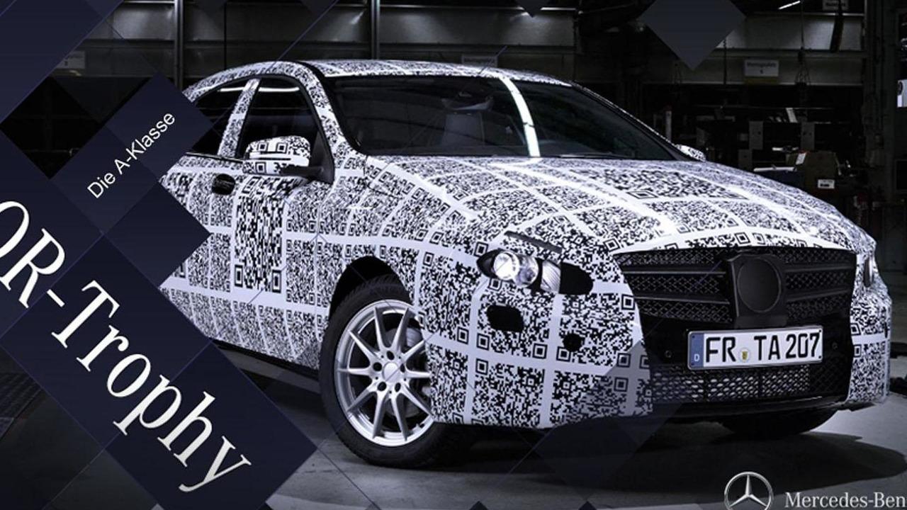 2012 Mercedes A-Class teaser image 20.1.2012
