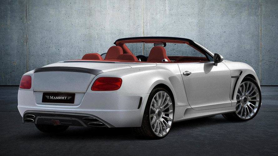 Redesigned Bentley Continental GT by Mansory world debut in Geneva