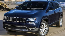 2014 Jeep Cherokee render / Theophilus Chin