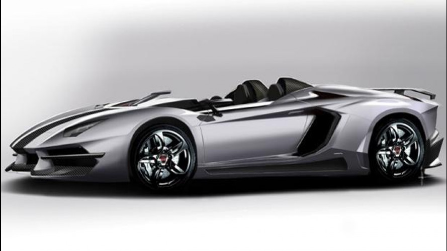 Lamborghini Aventador J, il tuning