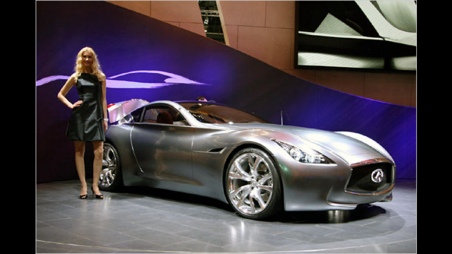 Elegante Luxus-Coupé-Studie: Infiniti Essence