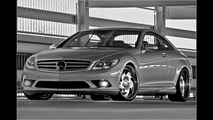 Individualisierung: wheelsandmore veredelt den CL 500