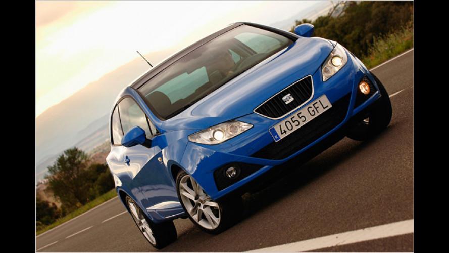 Seat Ibiza: Erstmals Benzin-Motor für Ibiza Ecomotive