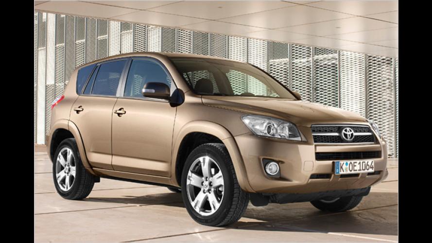 Neue Versionen von Toyota RAV4 und Urban Cruiser