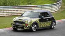 2015 MINI Cooper S Cabrio spy photo